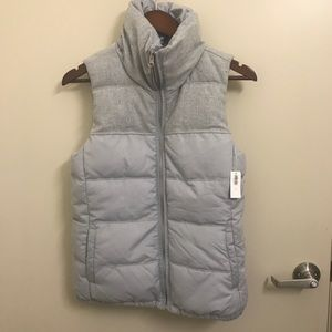 Old Navy | Grey Puffer Vest | Small